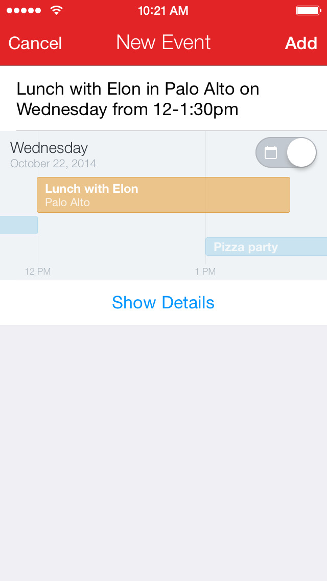 Fantastical - Calendar & Tasks screenshot 3