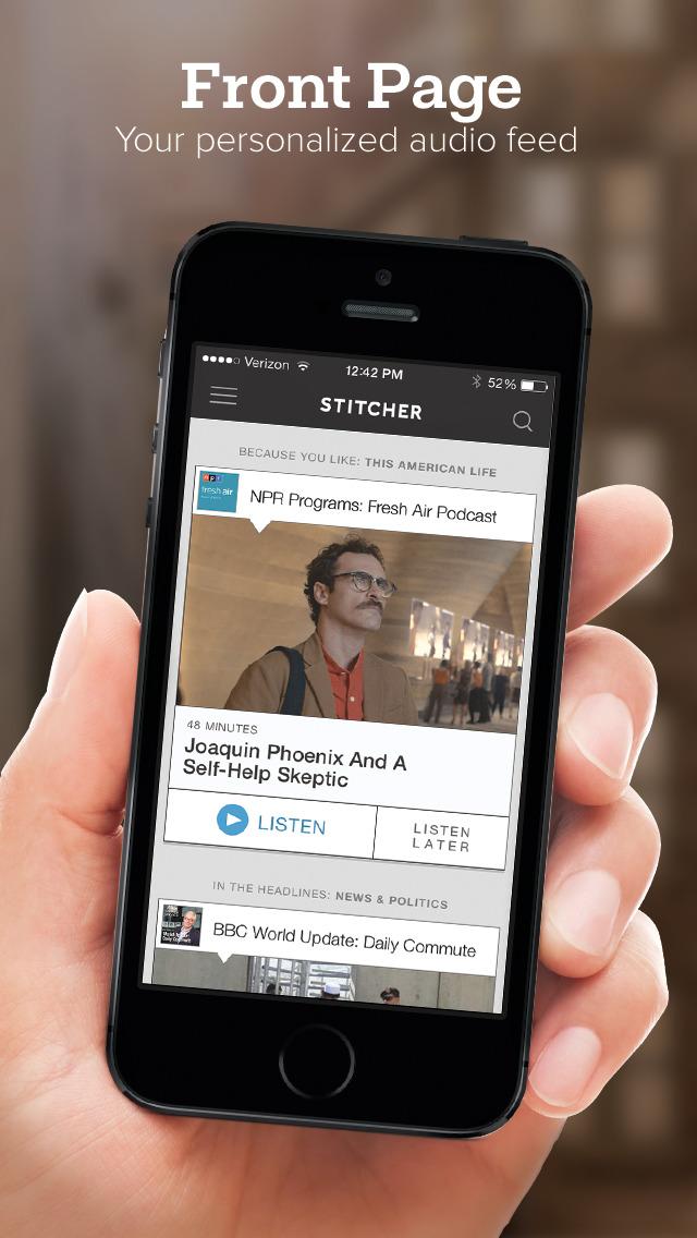 Stitcher for Podcasts screenshot 2