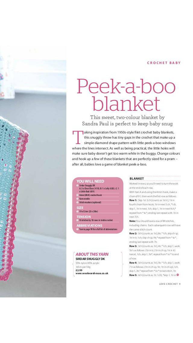 Love Crochet Magazine screenshot 3