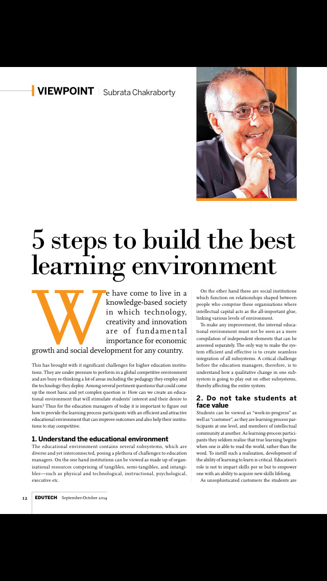 EDU Magazine screenshot 2