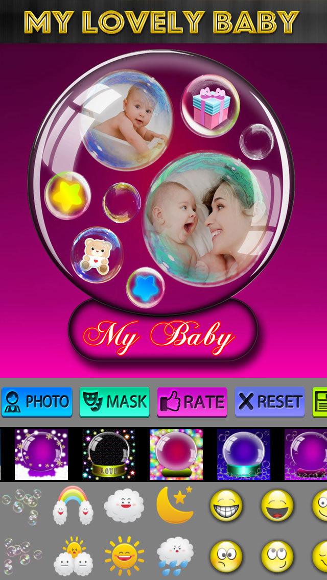 Crystal Ball Photo Frames screenshot 5