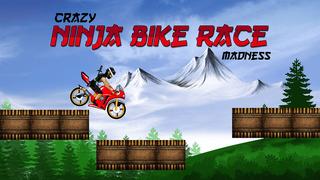 Crazy Ninja Bike Race Madness - best road racing arcade game screenshot 1