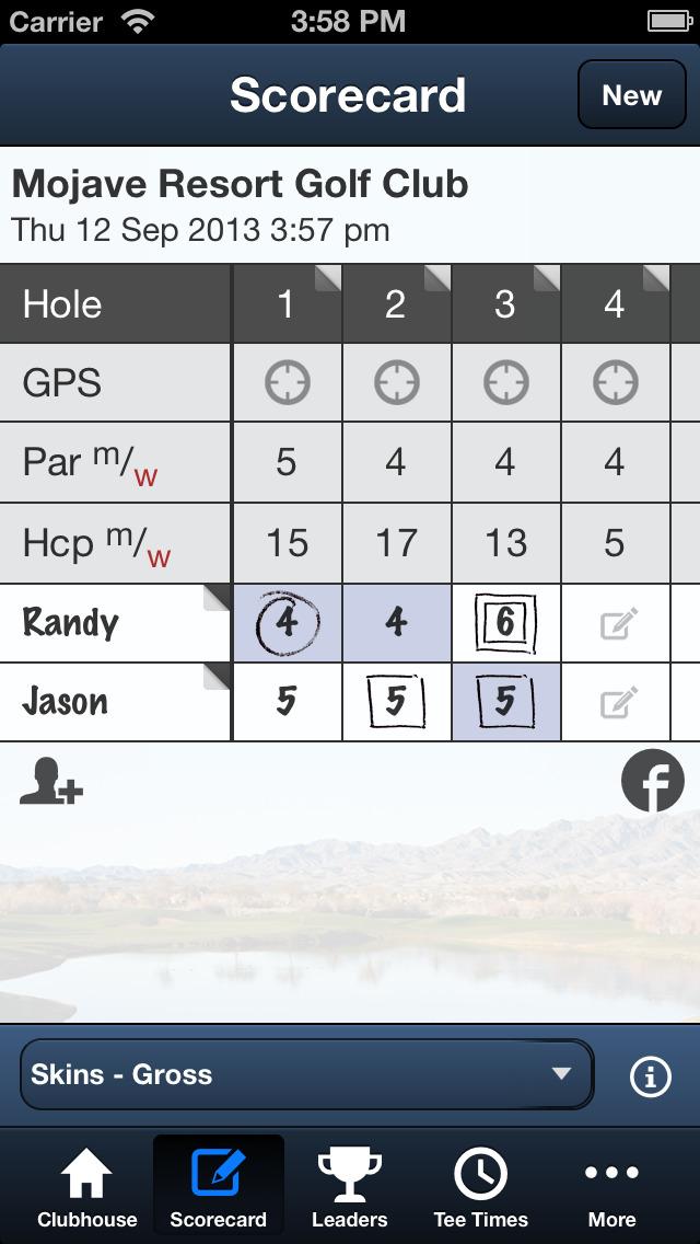 Mojave Resort Golf Club screenshot 4