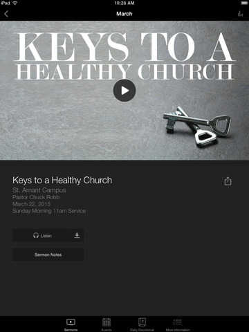 The Church International App screenshot 6