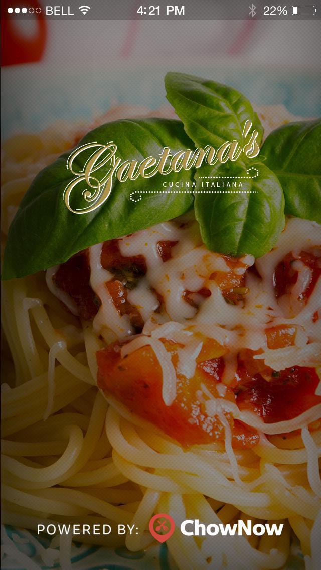 Gaetana's Cucina Italiana screenshot 1