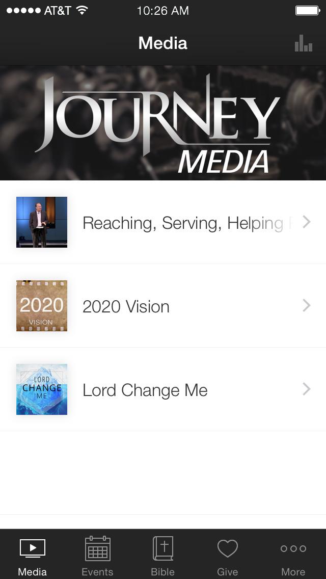 Journey Christian App screenshot 1