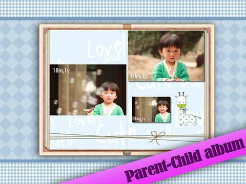 Baby Album for iPad screenshot 3