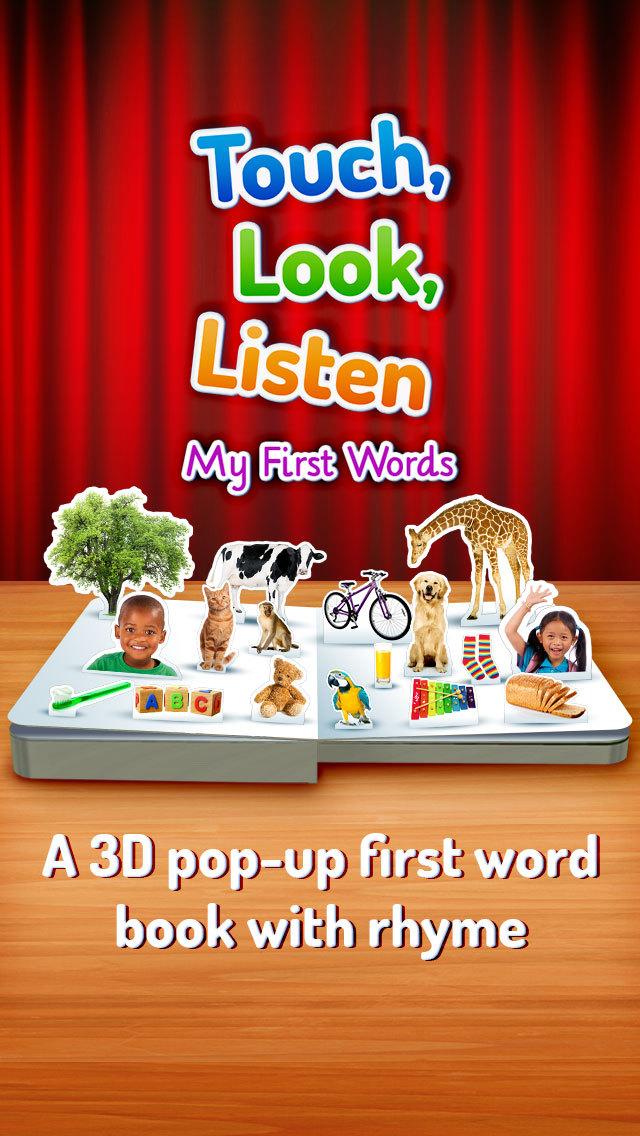 Touch, Look, Listen ~ My First Words screenshot 1