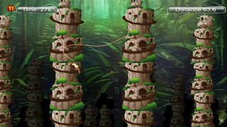 Super monkey 3D : The Jump And Fly Adventure In The Jungle screenshot 1