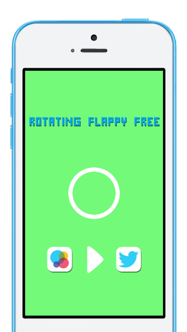Rotating Flappy FREE screenshot 3