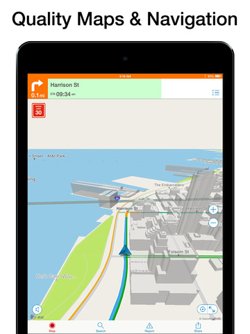 AT&T Navigator: Maps & Traffic screenshot 9
