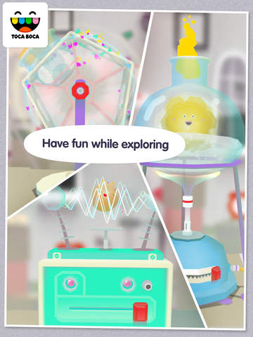 Toca Lab: Elements screenshot 10