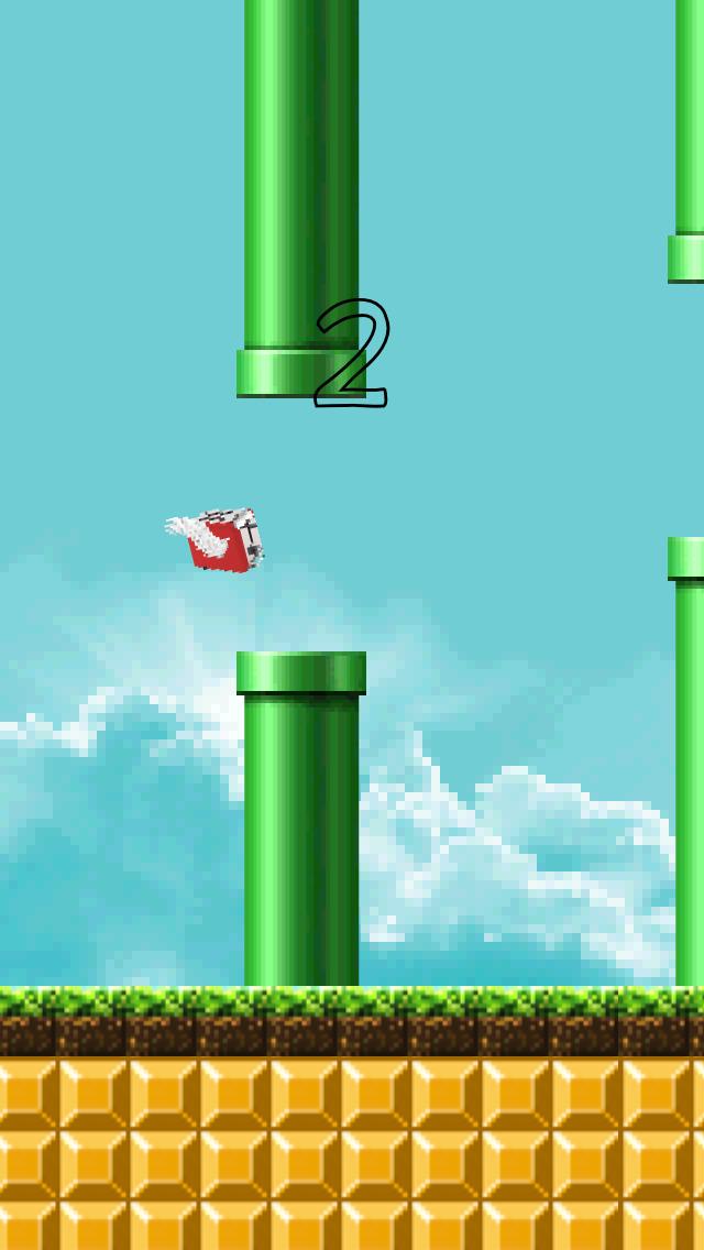 Flappy Toaster screenshot 1