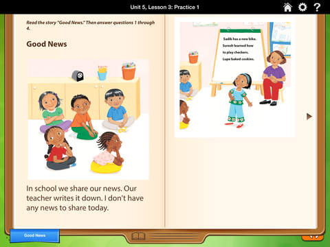 HMH English Learner Assessment Practice Grade 1 screenshot 2