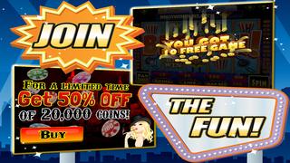 *777* Slots - Aces Hollywood Casino Slot Machine Games HD screenshot 5