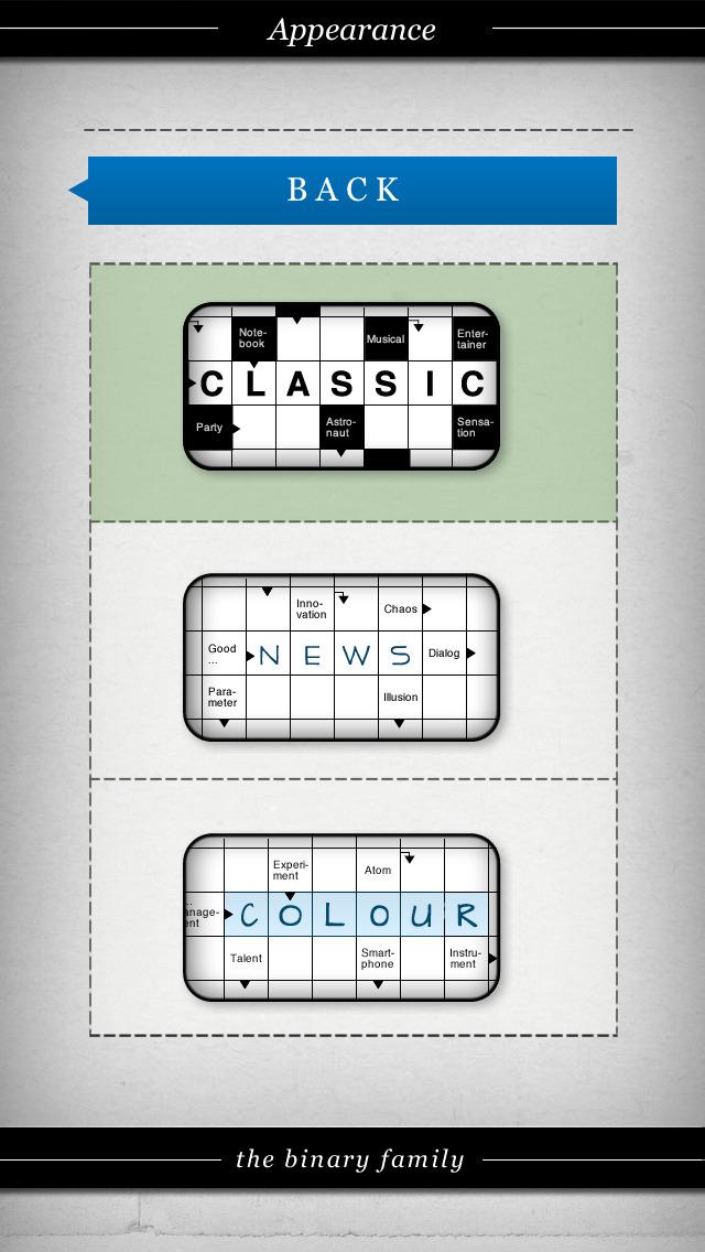 Crossword: Arrow Words. Smart Crossword Puzzles for iPhone screenshot 4