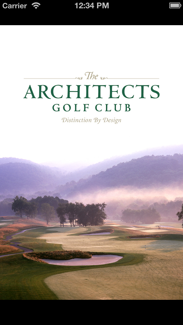 Architects Golf Club screenshot 1