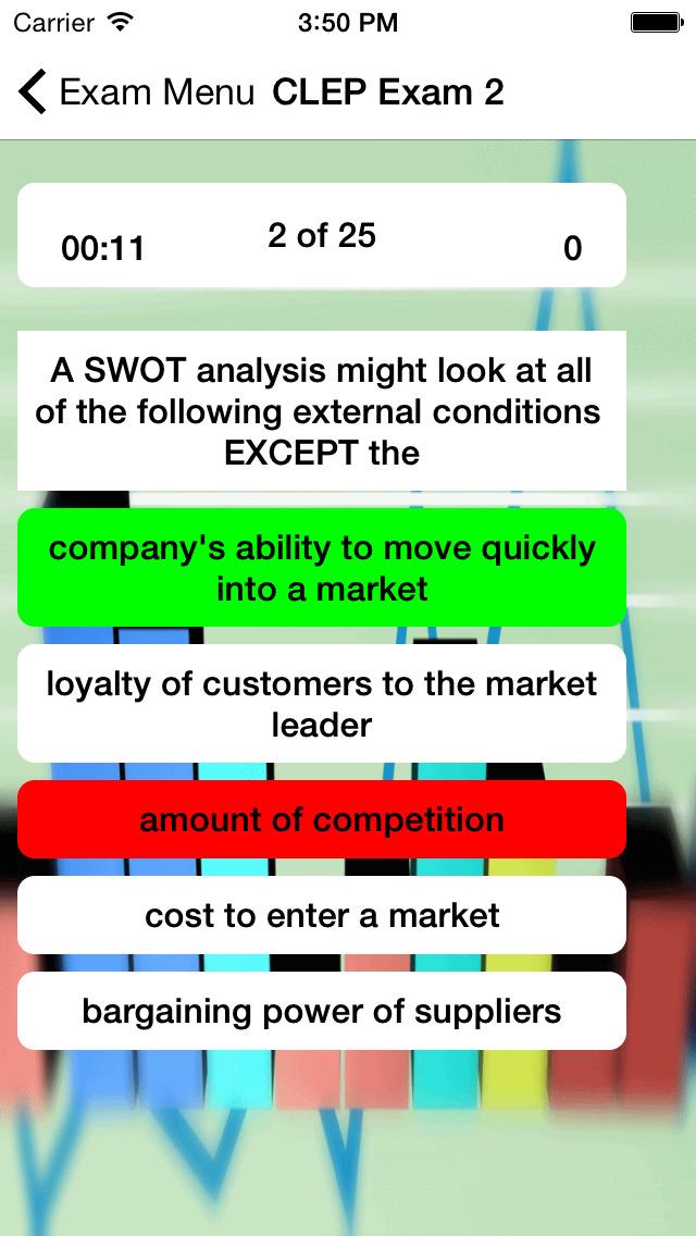 CLEP Marketing Prep 2020 screenshot 3