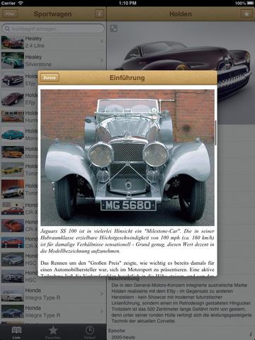1000 Sportwagen aus aller Welt screenshot 9