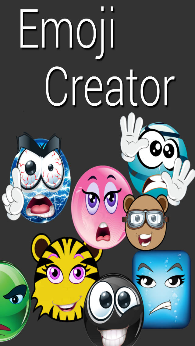 Emoji Creator Free & Smileys screenshot #1