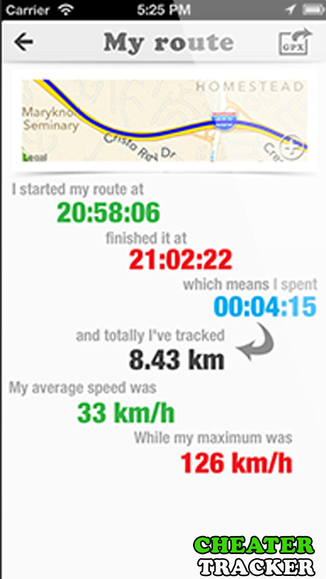 Route Tracker: GPS Locator for Walk, Run, Cycle and Drive screenshot 3