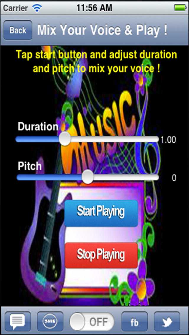 Funny Sound and Music Mixer.Funny Voice Mixer.Turn your speech or song into funny sound. screenshot 4