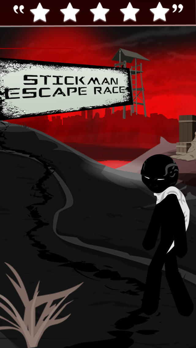 Stickman Escape Race screenshot 1