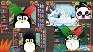 Panda & Penguin Hair Salon screenshot 2