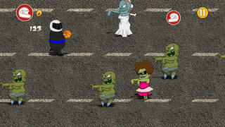 Awesome Zombies vs. Crazy Thanks Heroes Pro screenshot 3