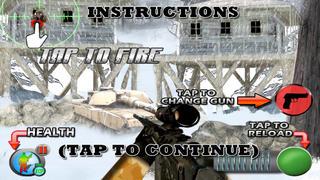 Arctic Assault (17+) : Sniper vs Sniper screenshot 4