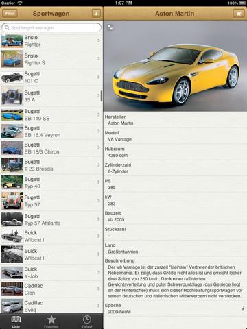 1000 Sportwagen aus aller Welt screenshot 6