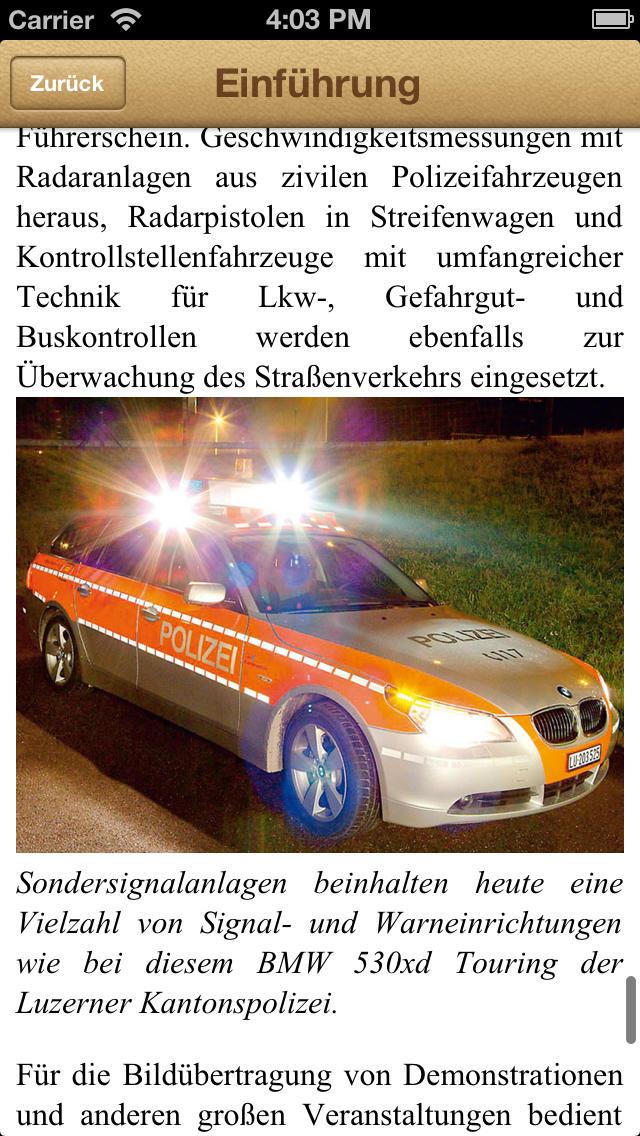 1000 Polizeifahrzeuge aus aller Welt screenshot 5