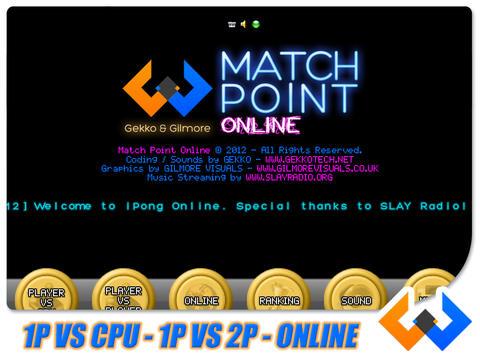 Match Point : Ping Pong Online screenshot 4
