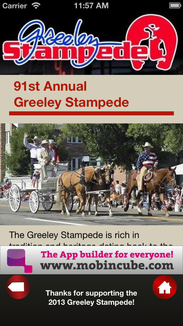 Greeley Stampede screenshot 2