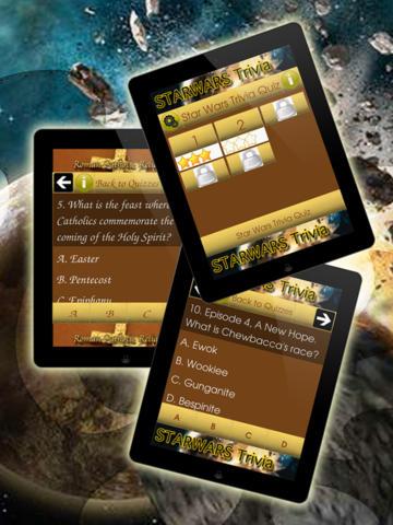SW Trivia Quiz screenshot 2