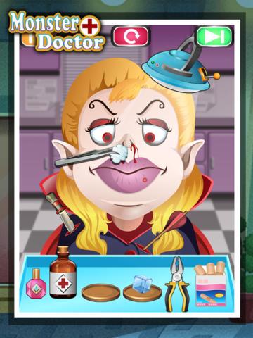 Monster Doctor - kids games screenshot 5