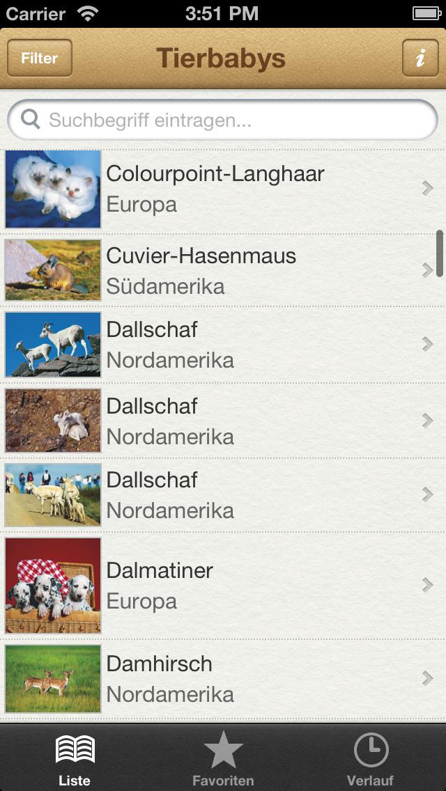 1000 Tierbabys aus aller Welt screenshot 1