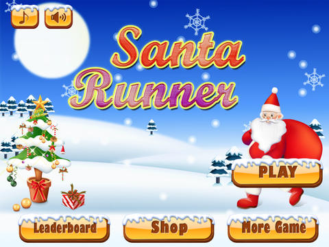 Santa Run Free - Jolly Runner on Xmas screenshot 3