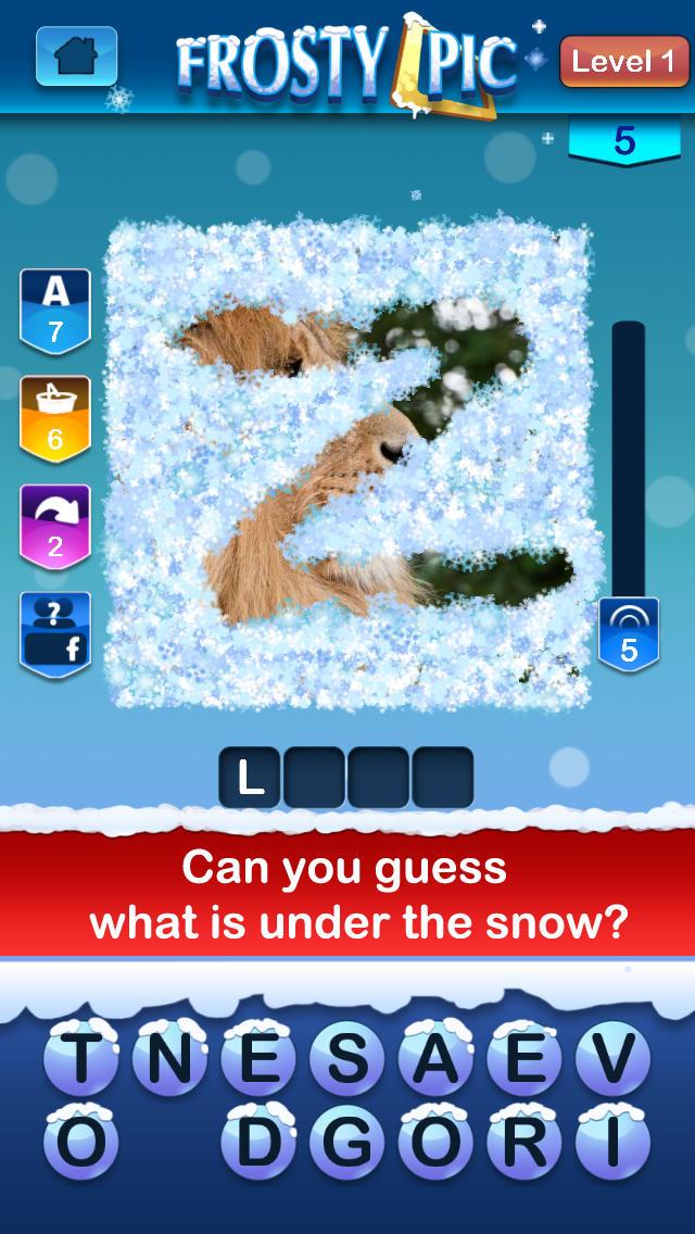 Frosty Pic screenshot 1