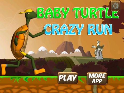 A Baby Turtle Crazy Run Free screenshot 5