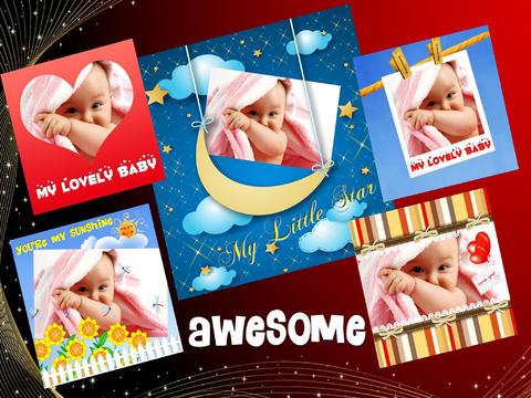 Amazing Baby Photo Frames (HD) screenshot 6
