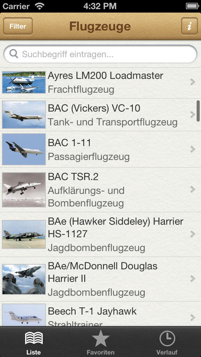 1000 Flugzeuge aus aller Welt screenshot 1