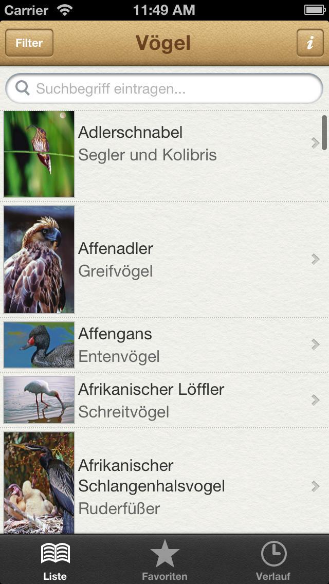 1000 Vögel aus aller Welt screenshot 1