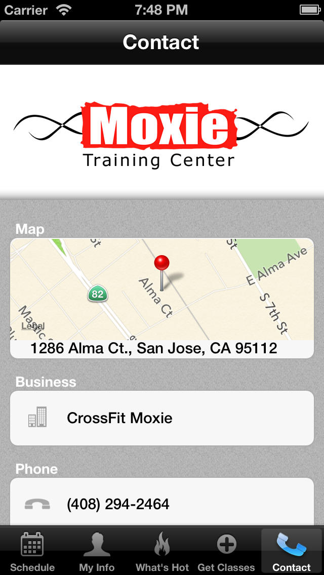 Moxie Training Center screenshot #4