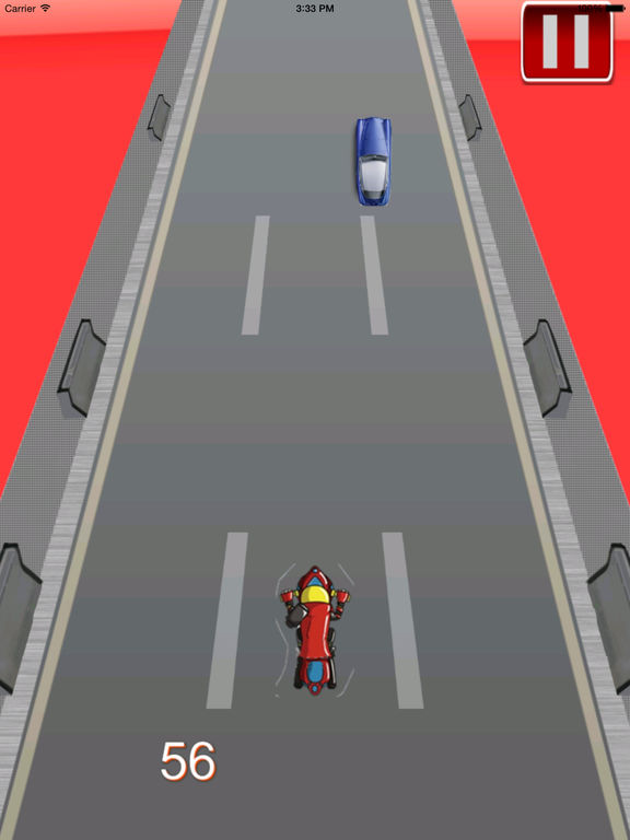 Amazing Night Motorcycle - Bike Game screenshot 9