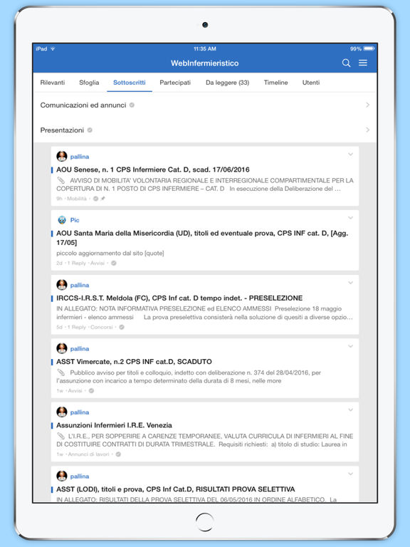 WebInfermieristico screenshot 8