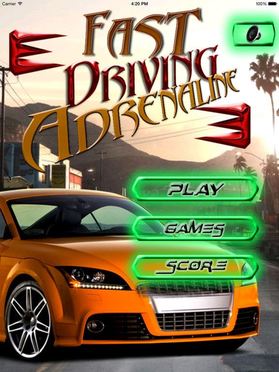 A Fast Driving Adrenaline - Arcade Adventure Race screenshot 6