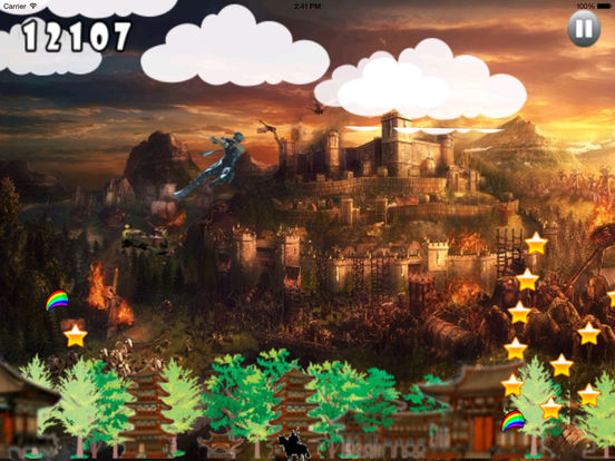 Clan Dark Jumping Pro - Samurai Adventure Game screenshot 8
