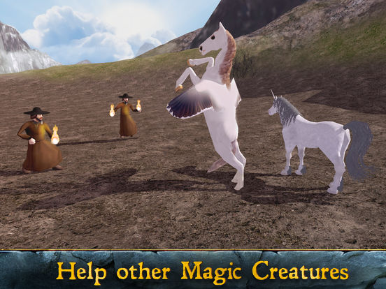 Flying Pegasus: Magic Horse Simulator 3D screenshot 6