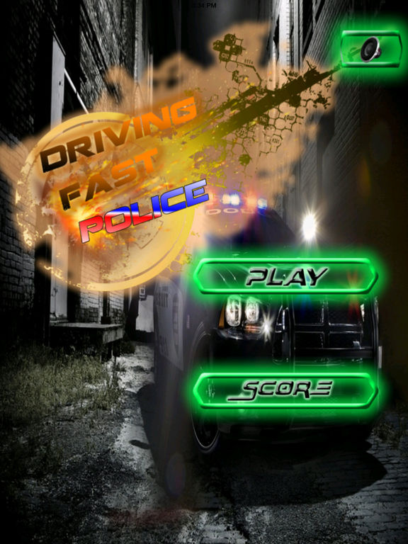 A Driving Fast Police Pro - Racing Hovercar Game screenshot 6